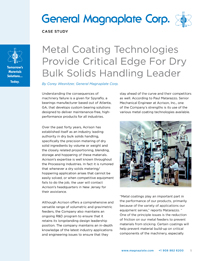Coatings for powder bulk solids case study