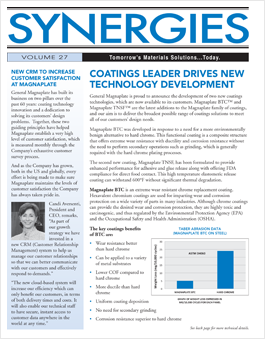 Wear coatings corporate newsletter