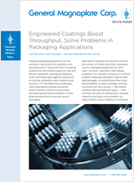 Coatings for packaging white paper